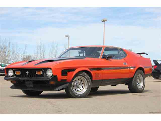 1972 Ford Mustang Mach 1 | 981097