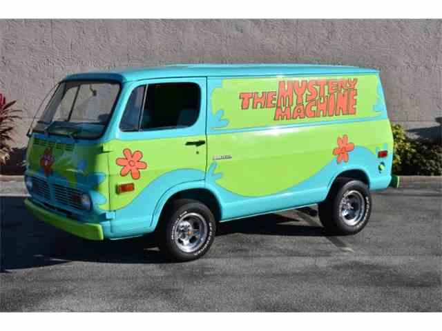 1969 Z Movie Car Scooby Doo Mystery Machine   980132