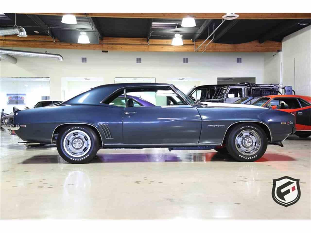 1969 Chevrolet Camaro Rs Z28 For Sale Classiccars Com