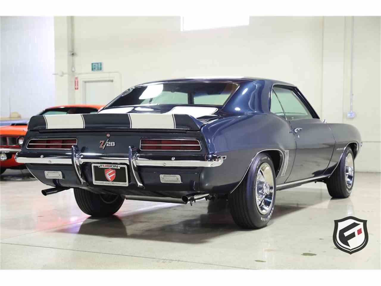 1969 Chevrolet Camaro Rs Z28 For Sale Classiccars Com