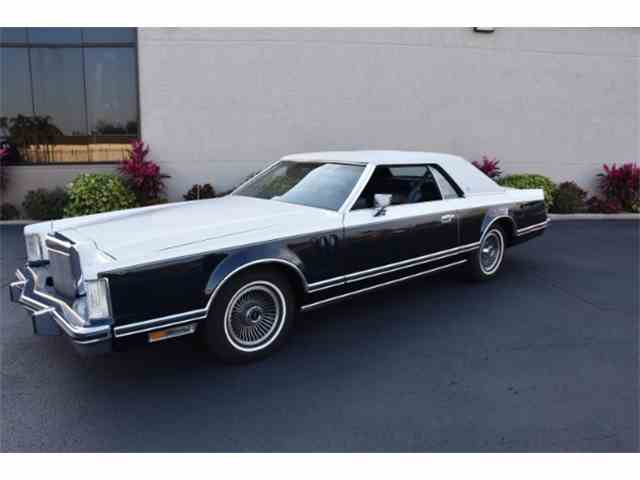 1979 Lincoln Continental One Owner Bill Blass Edition 55k | 980141