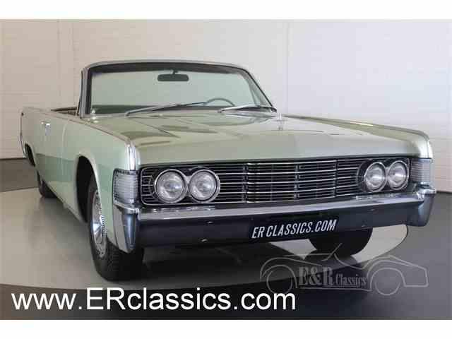 1965 Lincoln Continental | 981530