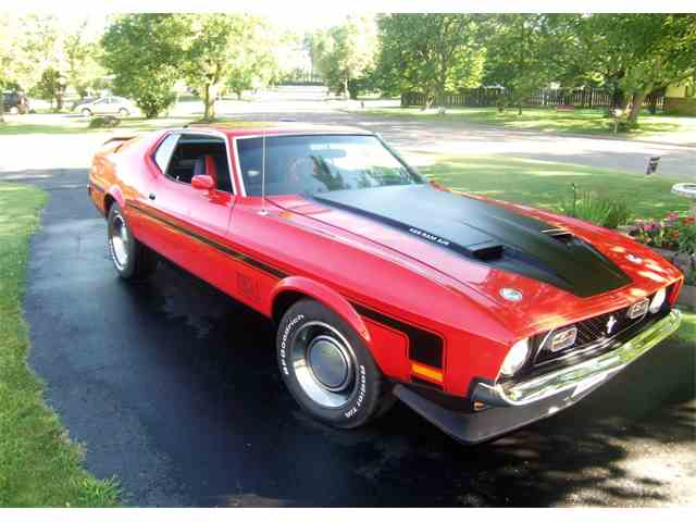 1971 Ford Mustang Mach 1 | 981641