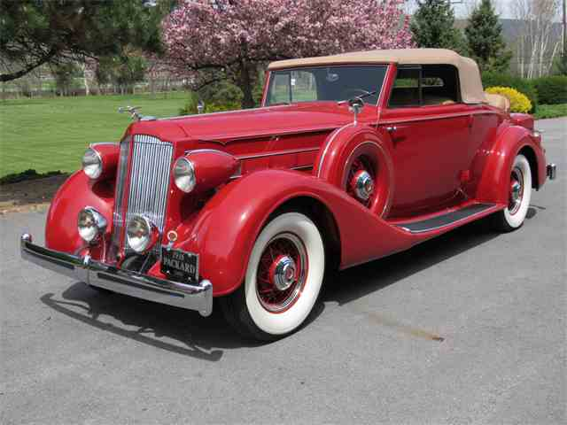 1936 Packard 1401 Convertible Coupe | 981691