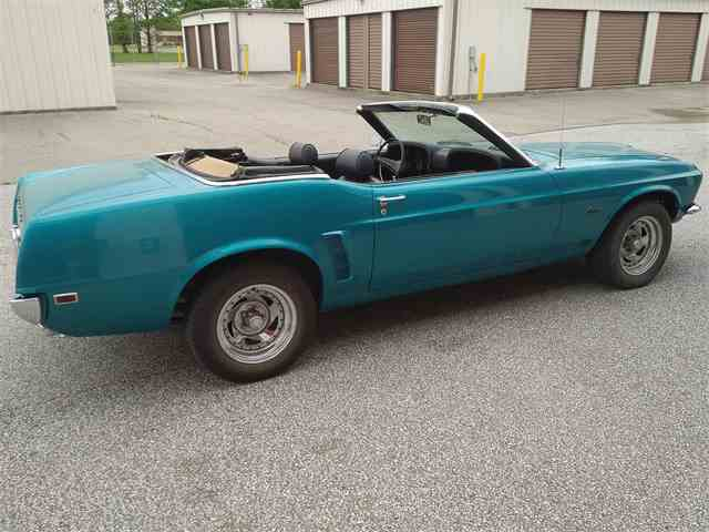 1969 Ford Mustang | 981714