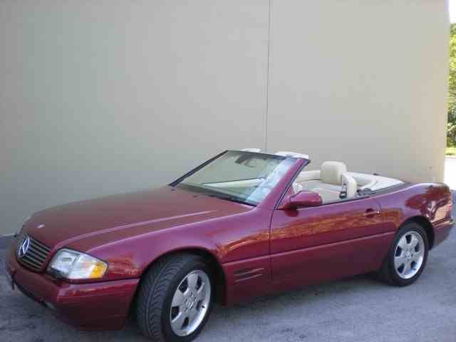 2000 Mercedes-Benz SL500 | 981829
