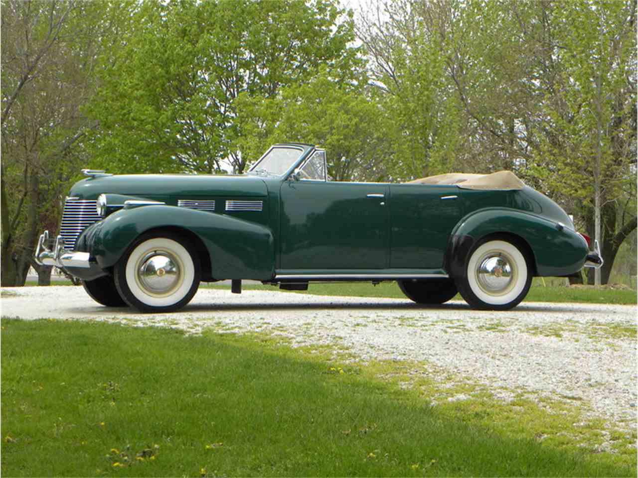 1940 Cadillac Series 62 Convertible Sedan for Sale - CC-981891