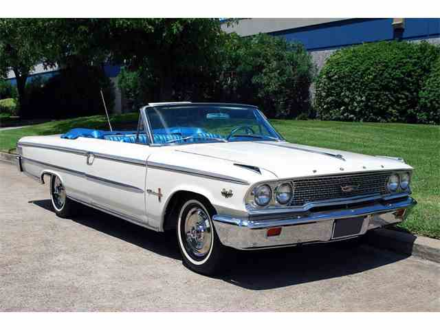 1963 Ford Galaxie 500XL R Code | 981969