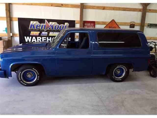 1982 Chevrolet Blazer Silverado Custom Deluxe | 982019