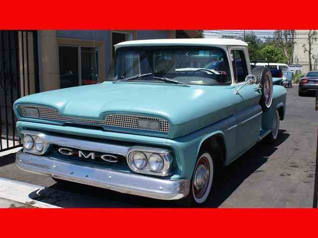 1960 GMC Pick upApache Stepside | 982120