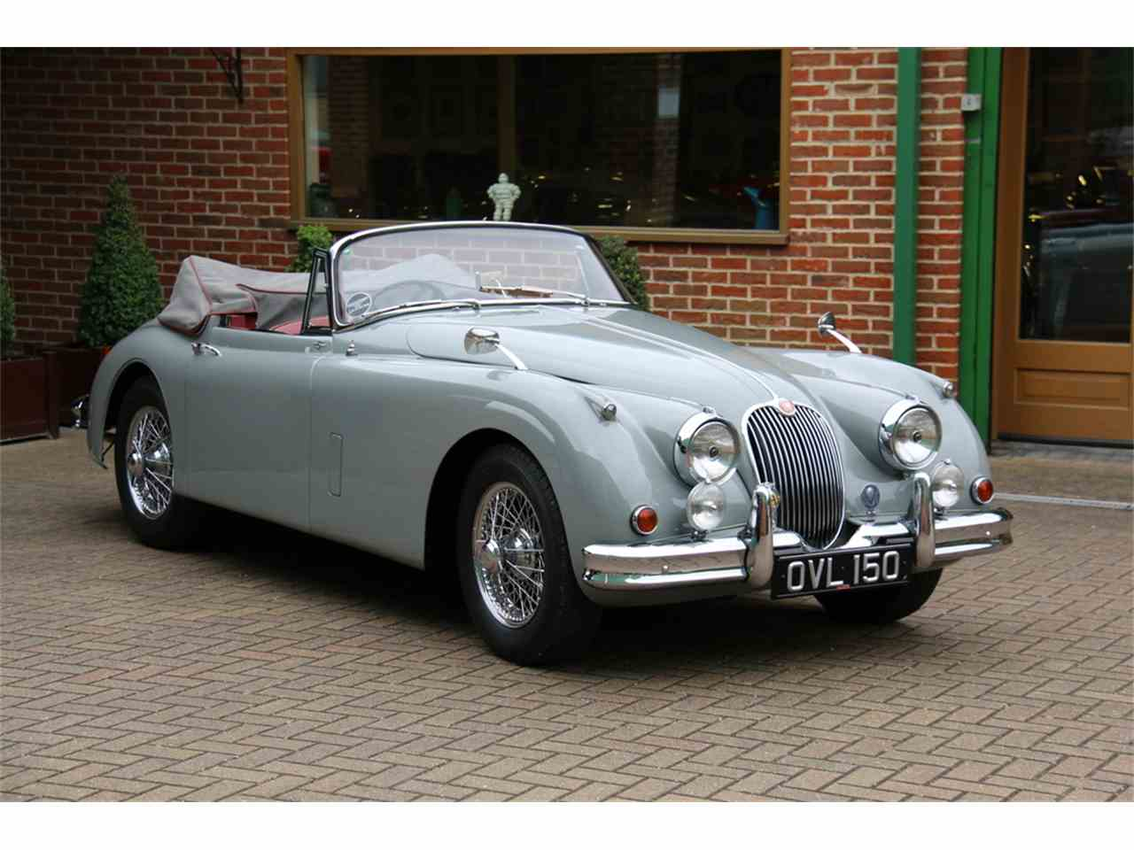 1960 jaguar xk150 s 3 8 drophead coupe for sale cc 982128. Black Bedroom Furniture Sets. Home Design Ideas