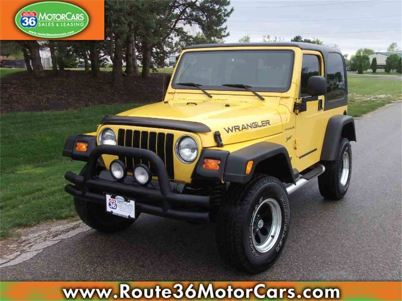 2002 Jeep Wrangler for Sale - CC-982147