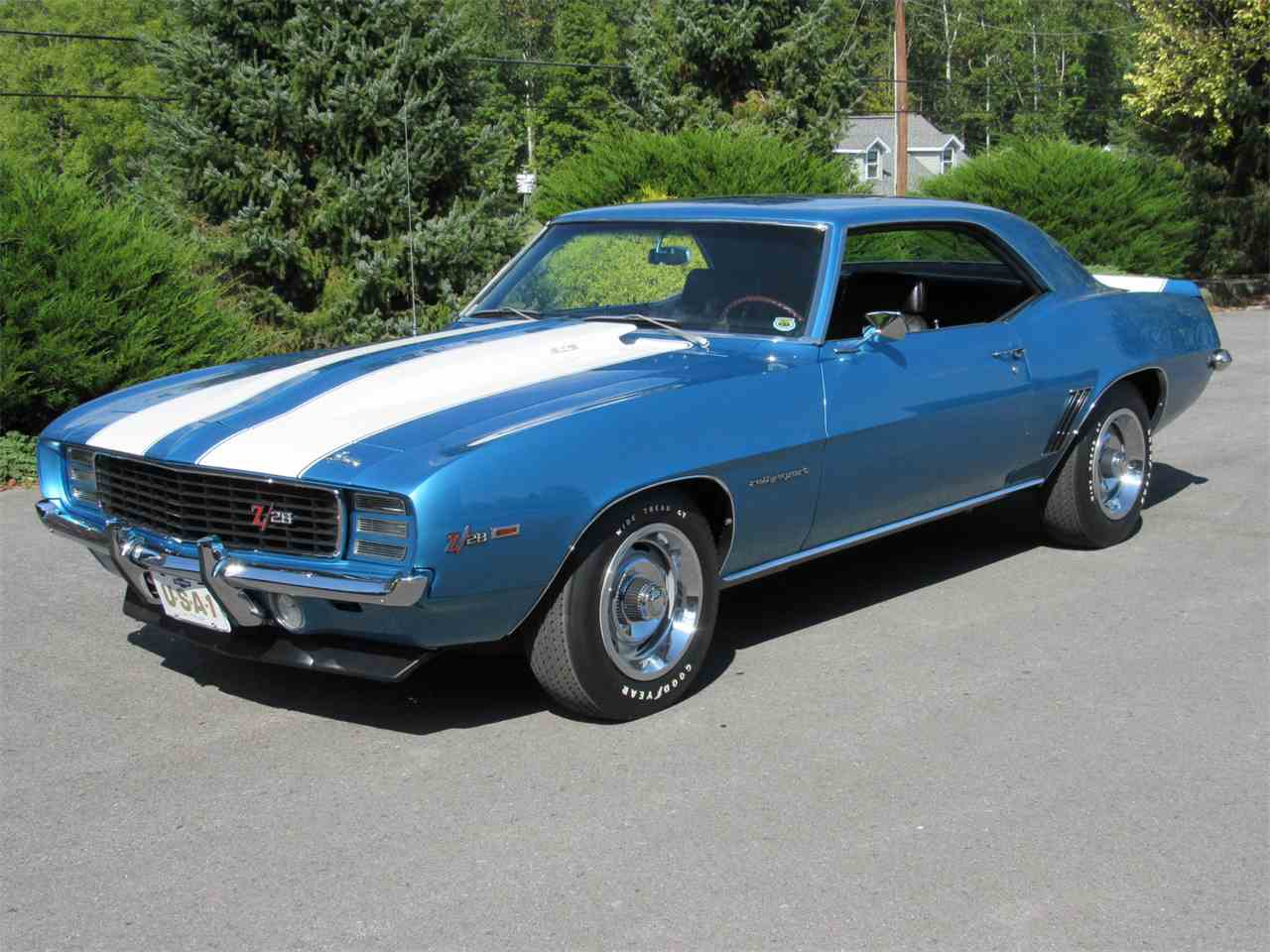 1969 chevrolet camaro z28 for sale cc 982166. Black Bedroom Furniture Sets. Home Design Ideas