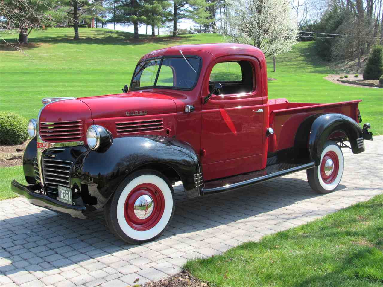 1947 dodge 1 2 ton pickup for sale cc 982170. Black Bedroom Furniture Sets. Home Design Ideas