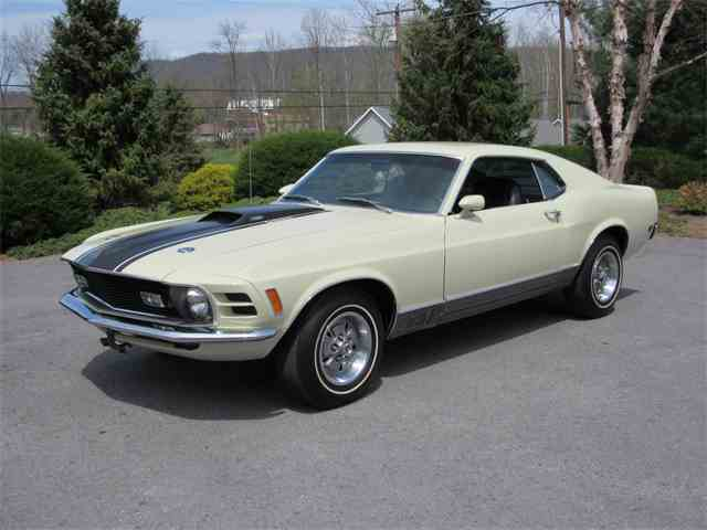 1970 Ford Mustang Mach 1 | 982179