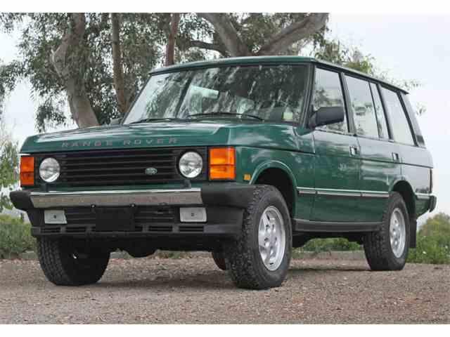 1994 Land Rover  RR | 982181