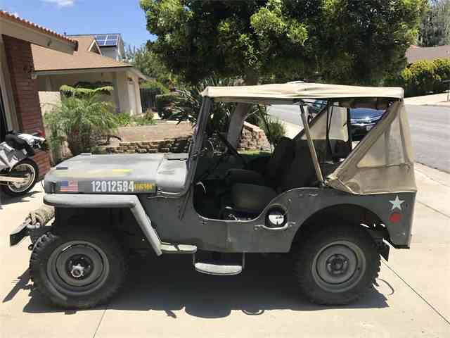 1952 Willys Military Jeep | 982200