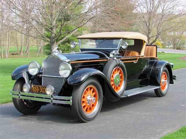 1929 Packard 640 Custom Eight Runabout  | 982218