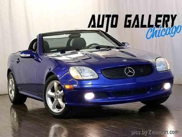 1998 Mercedes-Benz SLK230   982307