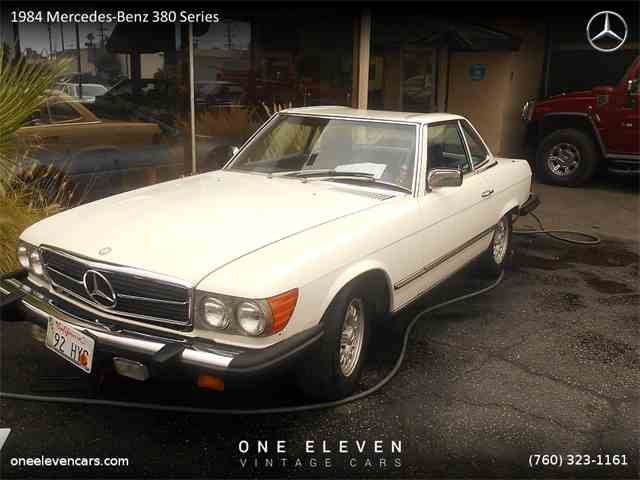 1984 Mercedes-Benz 380 Series 380SL | 982404