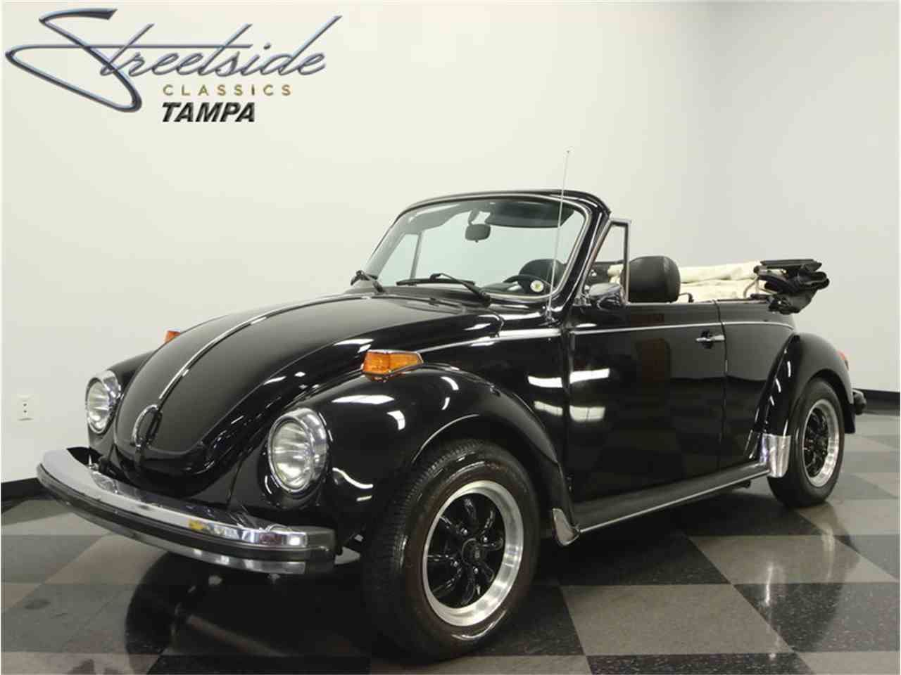 1979 volkswagen super beetle convertible for sale cc 982820. Black Bedroom Furniture Sets. Home Design Ideas