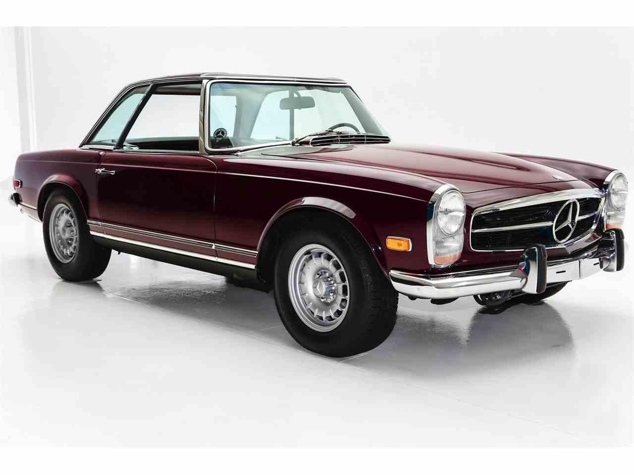 1969 mercedes benz 280sl for sale cc for Des moines mercedes benz