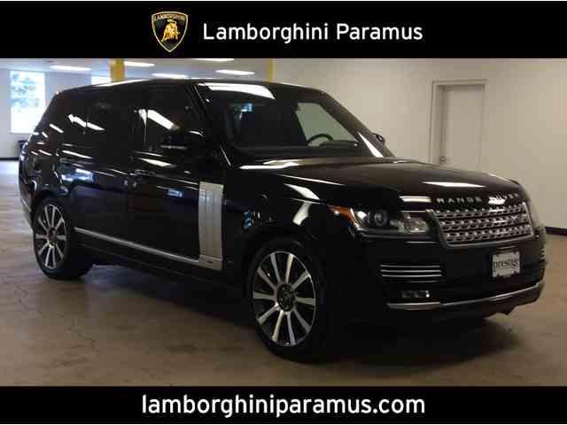 2016 Land Rover Range Rover | 982898