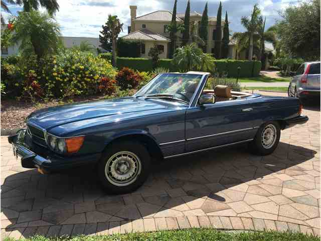 Classic mercedes benz 380sl for sale on for Buy classic mercedes benz