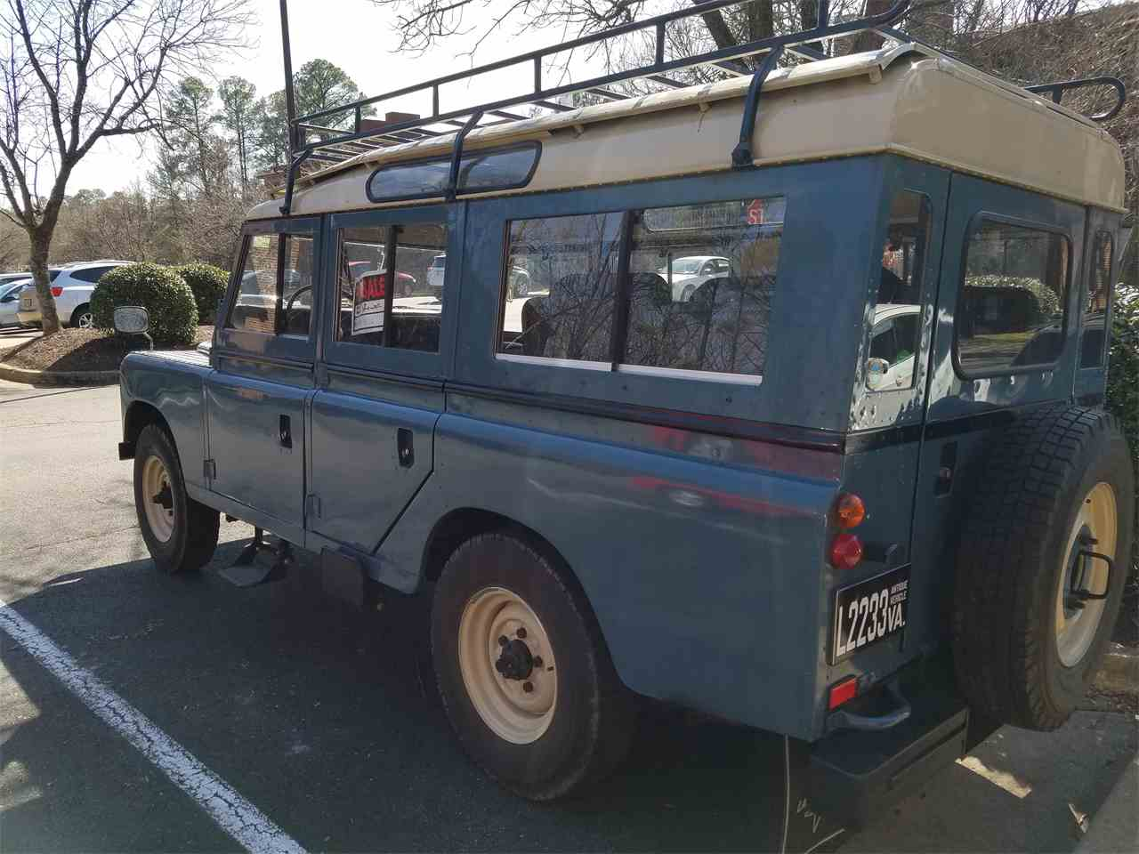 1978 land rover series iia for sale cc 982994. Black Bedroom Furniture Sets. Home Design Ideas