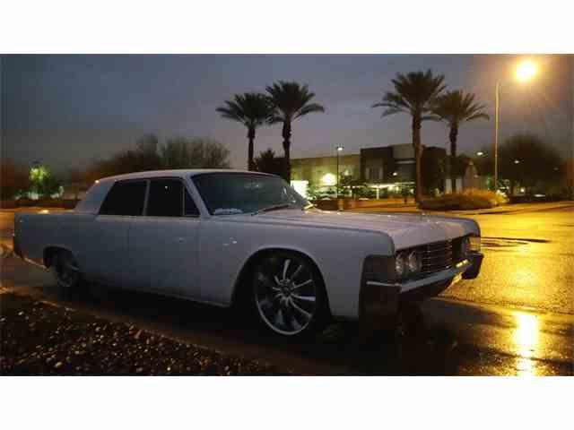 1965 Lincoln Continental   983014
