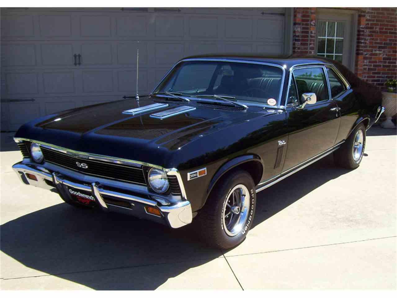 1969 Chevrolet Nova SS for Sale | ClassicCars.com | CC-980304