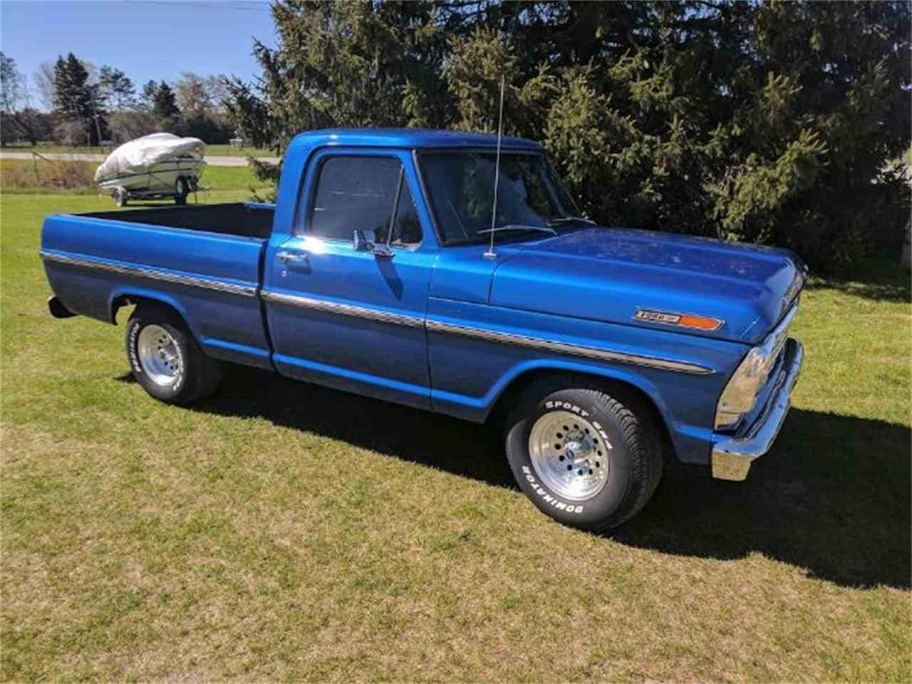 1969 Ford F-100 1/2 Ton Values   Hagerty Valuation Tool