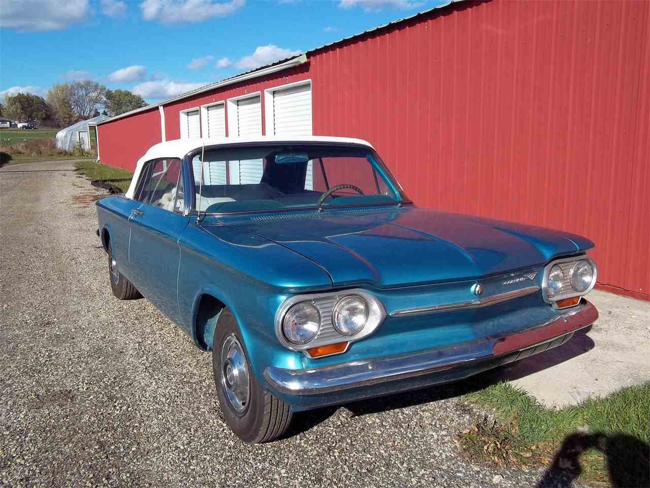 All Chevy chevy corvair monza : 1963 Chevrolet Corvair Monza for Sale | ClassicCars.com | CC-983272