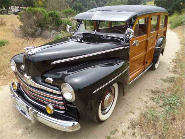 1946 Ford Deluxe Woody Station Wago | 983348