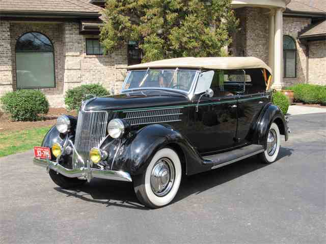 1936 Ford Deluxe Phaeton 4-Door