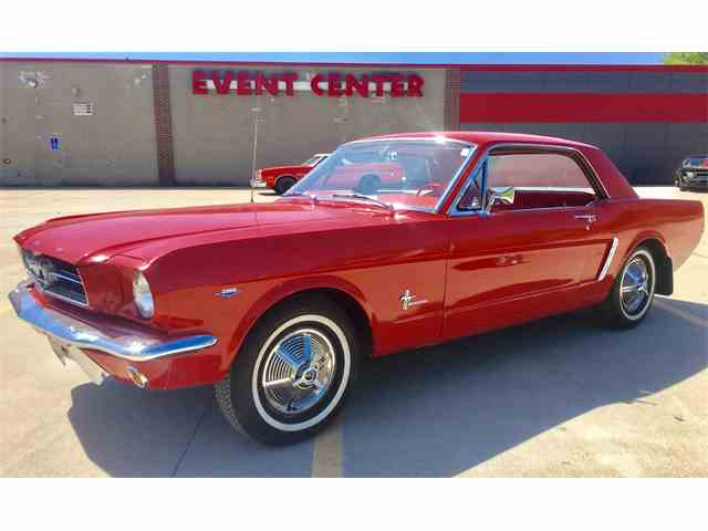 1965 FORD MUSTANG 4 SPEED | 983530
