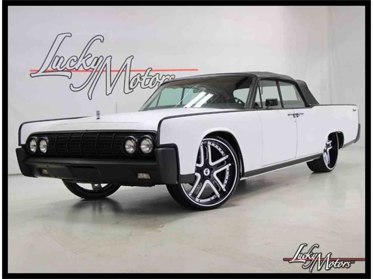 1964 lincoln continental for sale cc 983569. Black Bedroom Furniture Sets. Home Design Ideas