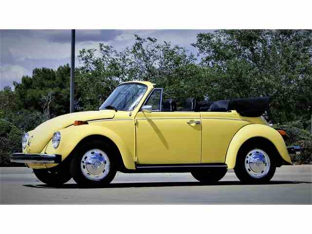 1974 VOLKSWAGEN SUPER BEETLE CONVERTIBLE | 983588