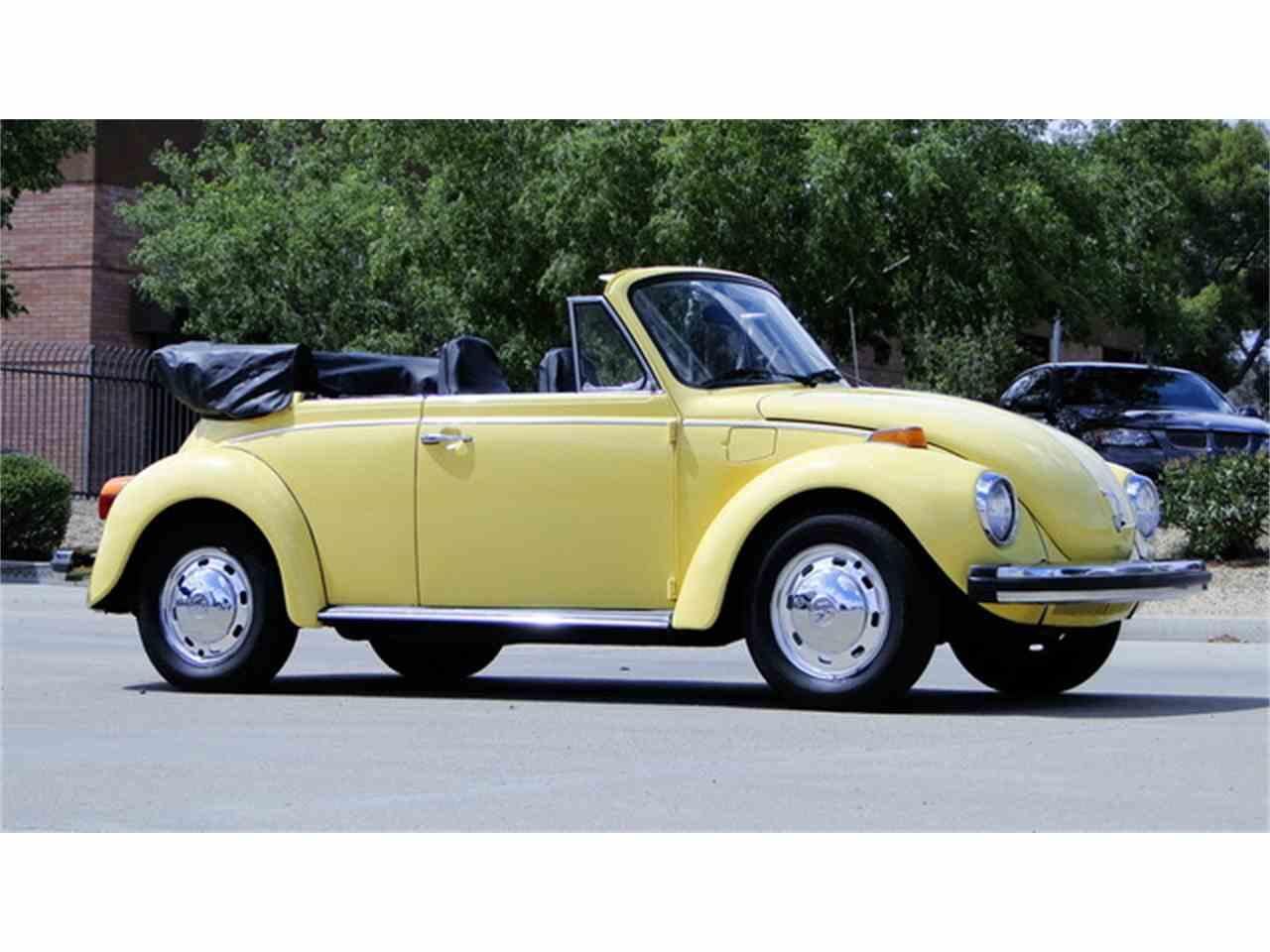 1974 Volkswagen Super Beetle Convertible For Sale
