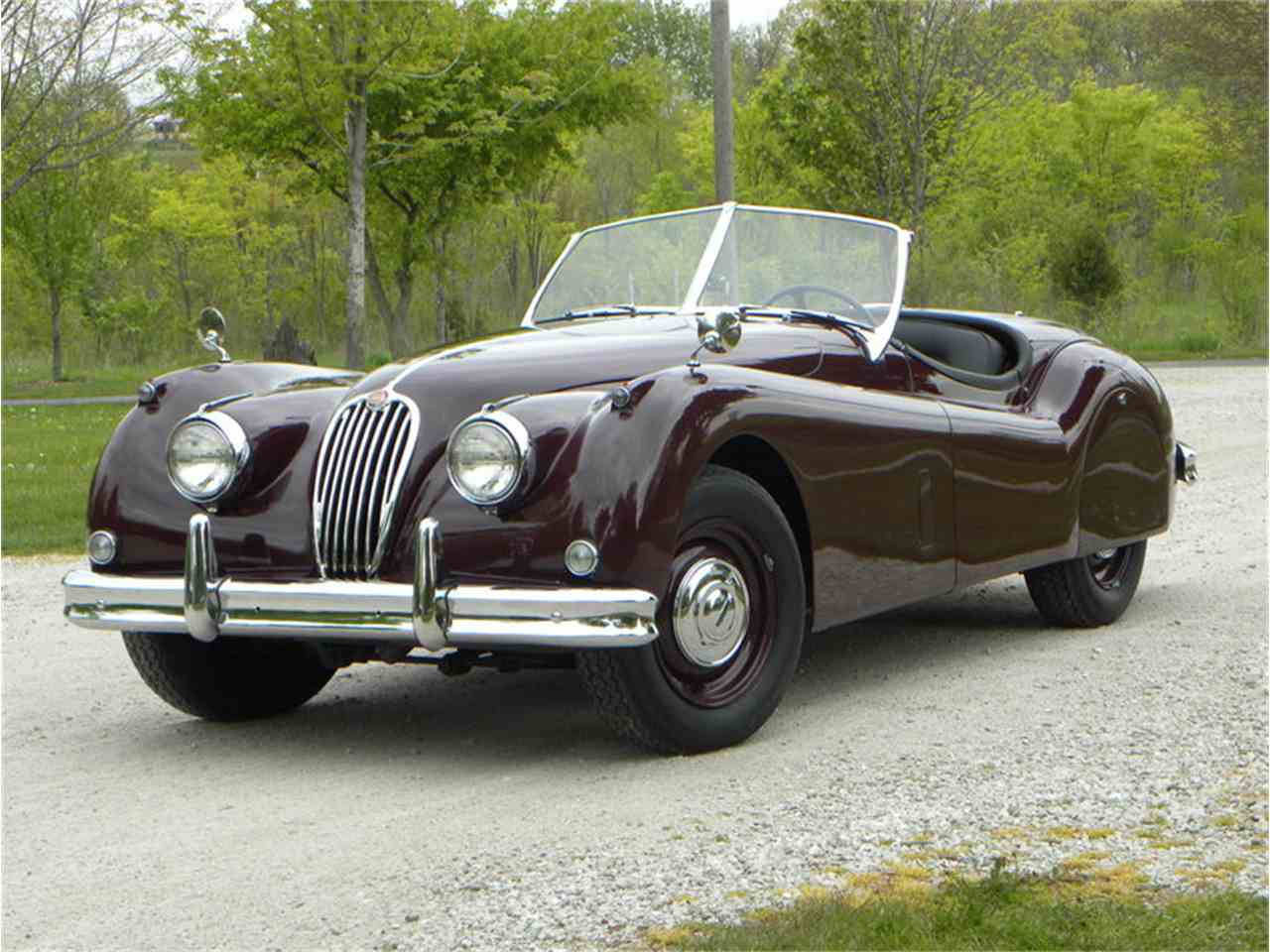 Large Picture of '55 XK-140 Sport Roadster - L2YC