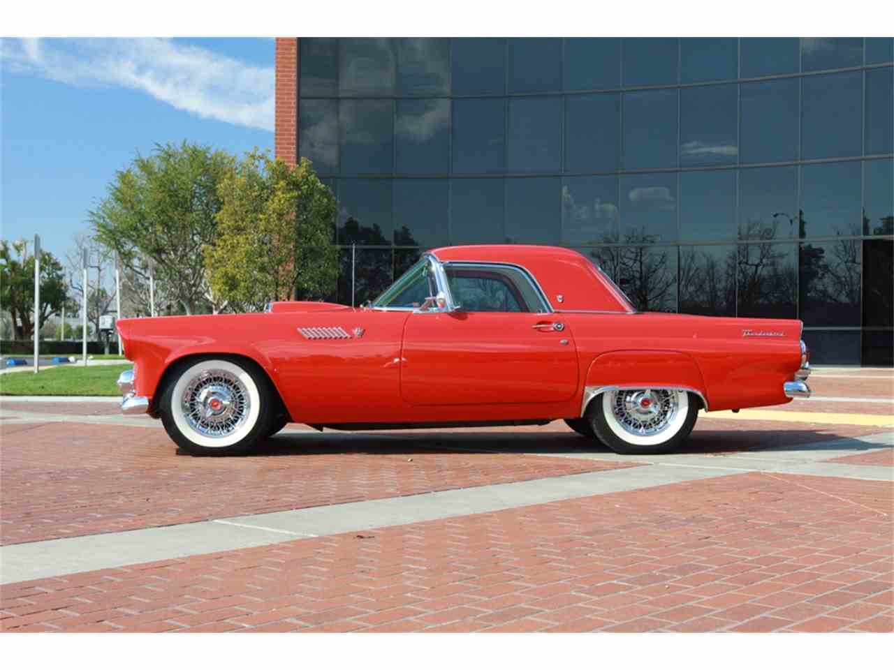 1955 ford thunderbird for sale cc 983643. Black Bedroom Furniture Sets. Home Design Ideas