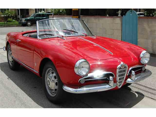 1958 Alfa Romeo Giulietta Spider | 983956