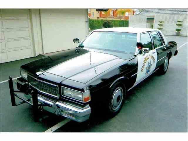 1989 Chevrolet Caprice CHP Cruiser   984030