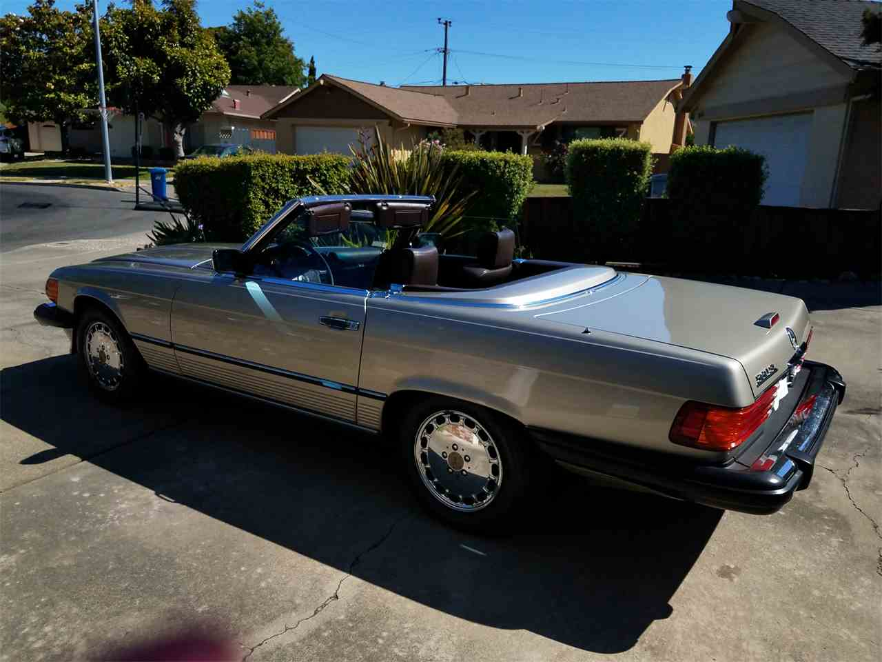 Large Picture of 1989 560SL located in Bay Area California - L3BY