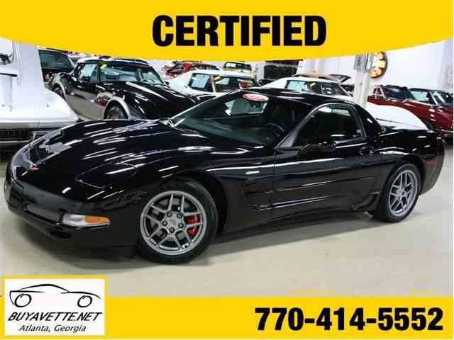 2001 Chevrolet Corvette | 980416