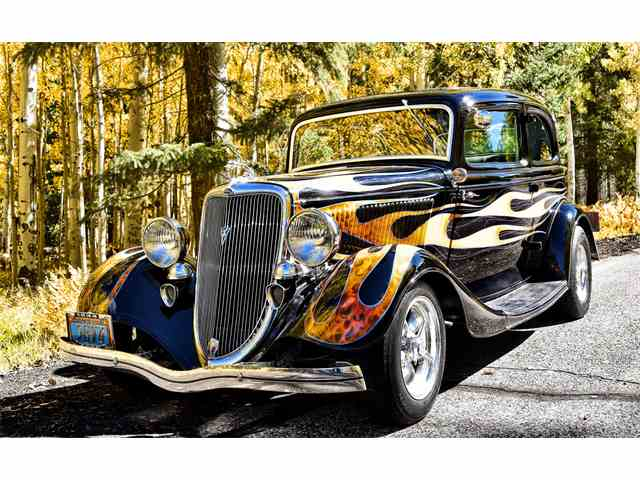 1934 Ford Victoria Deluxe | 984289