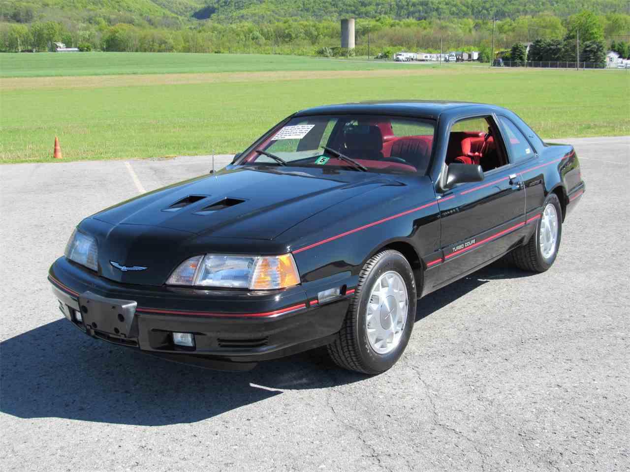 1988 Ford Thunderbird for Sale on ClassicCarscom  1 Available