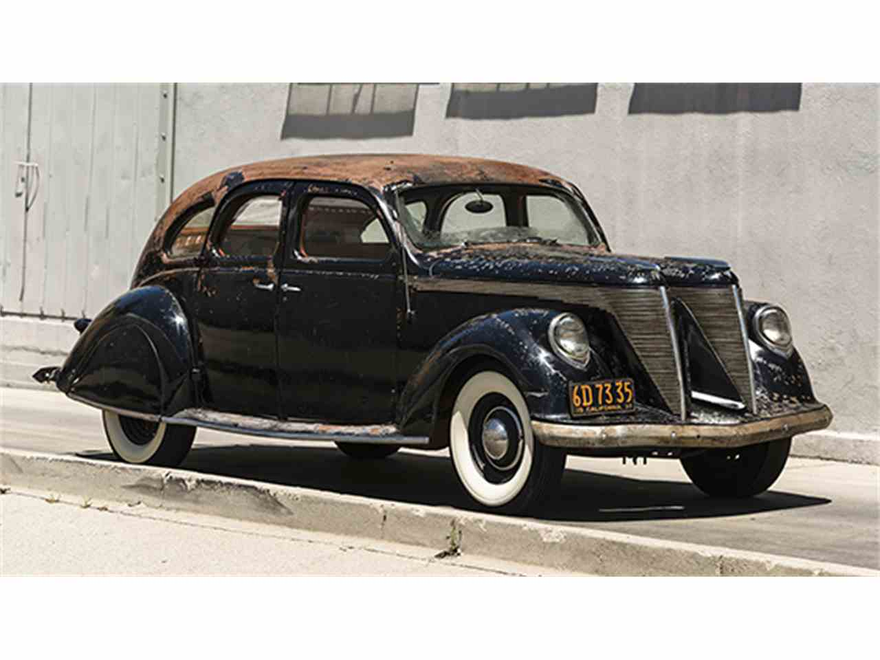 1936 lincoln zephyr v 12 twin grille custom sedan cc