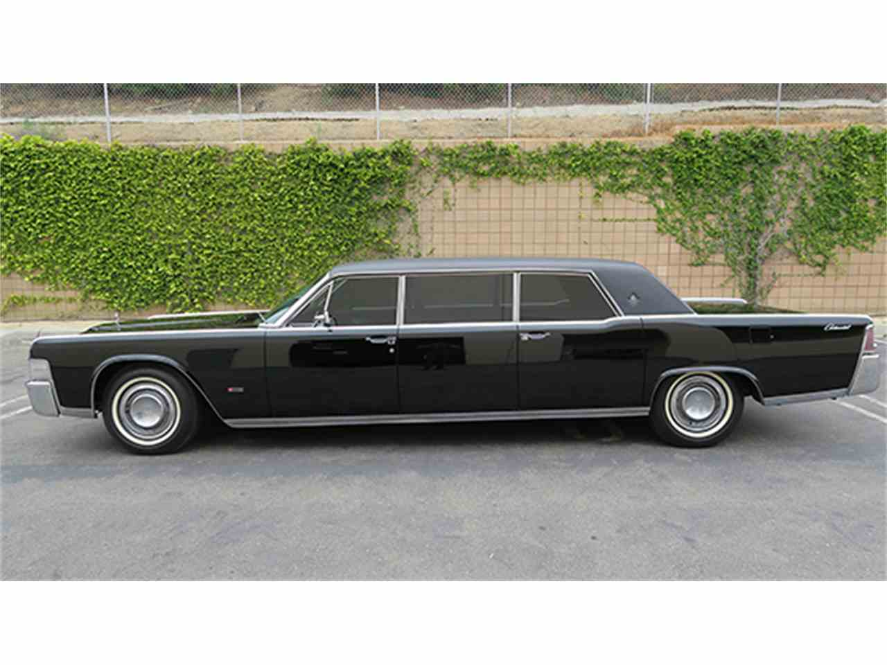 1965 lincoln continental executive limousine by lehmann peterson for sale cc. Black Bedroom Furniture Sets. Home Design Ideas