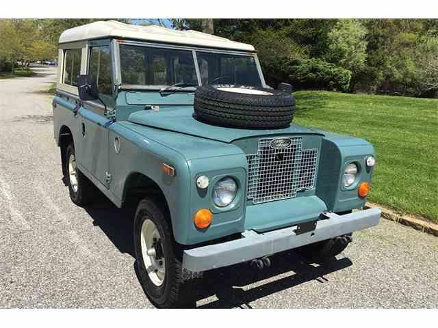 1971 Land Rover Series IIA   984392